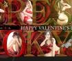 ヘブンネット掲載 DRESS TOKYO スライド画像 バレンタイン仕様